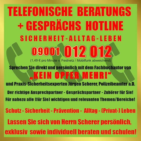 Telefonische Hotline Scherer